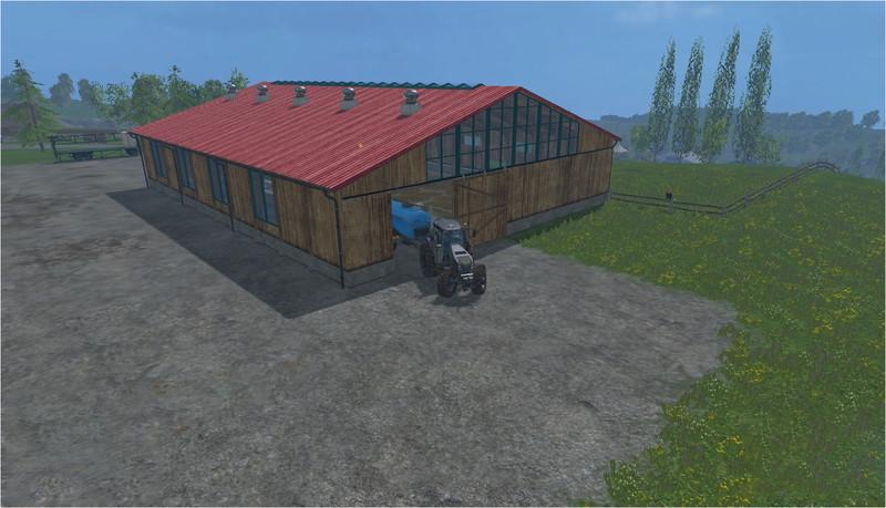 Sheepfold building