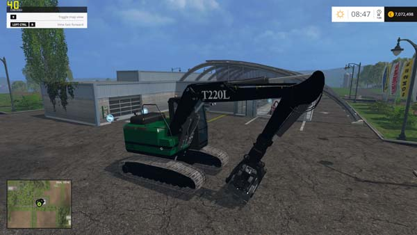 FDR T220L Grapple Loader