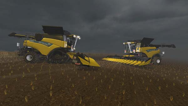 New Holland Cr9.90 ATI und Terra Wheels v 1.0 Beta Terra Wheels