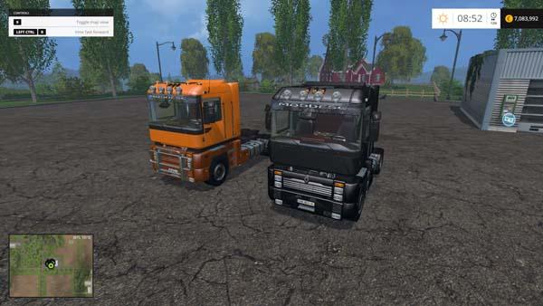 Renault Integral Truck Pack