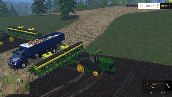 Mercedes Benz 1513 For Planter and sprayer Supply