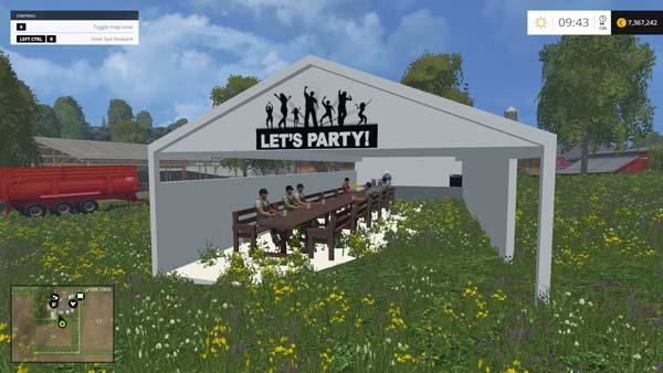 Party zelt