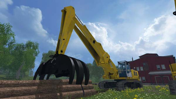 Rolo Excavator Forest Pack Beta