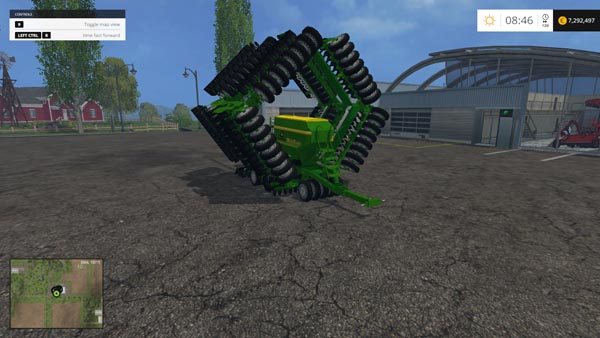 John Deere multi-sedder 18rows
