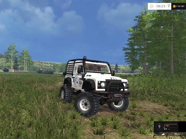 Land Rover Defender Dakar White