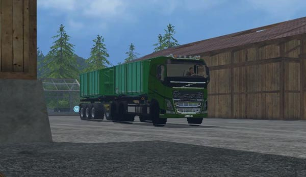 Volvo FH16 agricultural