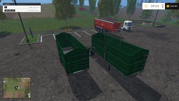 Bitrem Truck Trailers