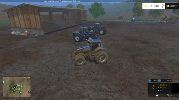 New Holland T8435 DW