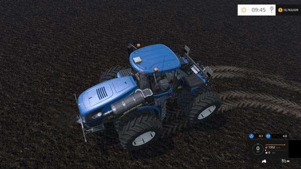 New Holland T9.670 Duel Wheel