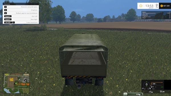 RUS Kamaz military truck