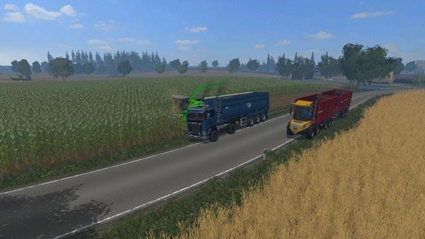 Scania R 730 Streamline Agro Truck v 1.0 colorchoice
