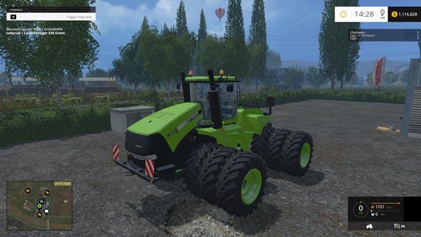 Case IH Steiger 535 Green