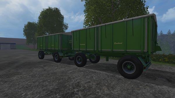 Krone 18 ton