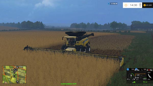 New Holland Combine Cr