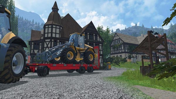 Schwarzmuller low loader