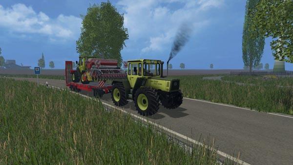 Schwarzmuller low loader