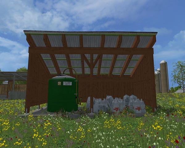 Fertilizer warehouse