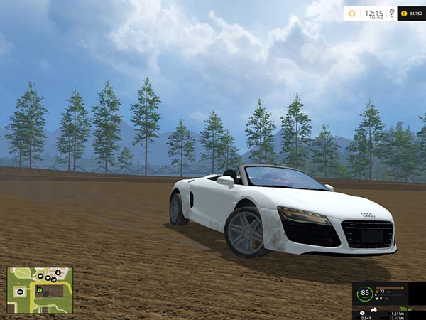 Audi R8 Spyder v 1.1