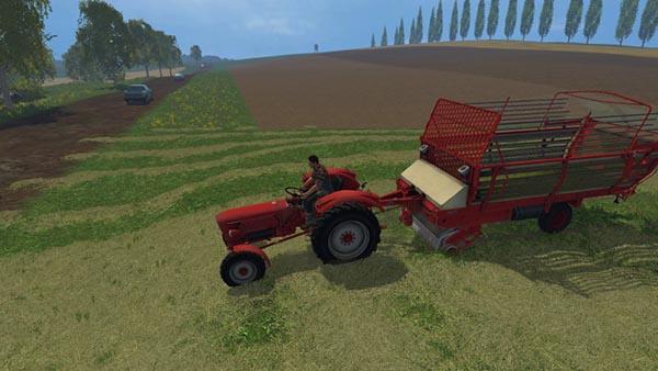 Krone 2500 forage wagon