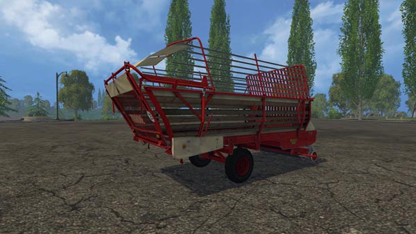 Krone 2500 forage wagon