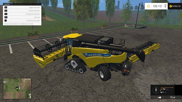 NEW HOLLAND CR9090 SMARTRAX