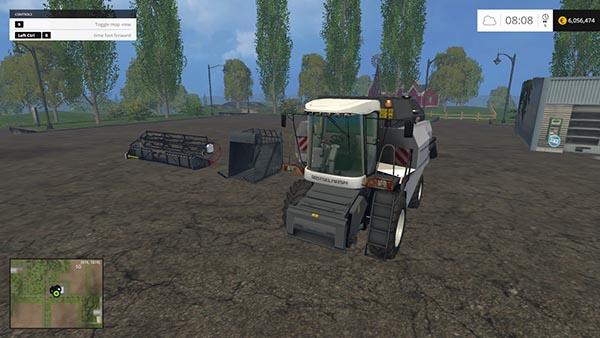 Rostselmash Vector 410 kopnitel