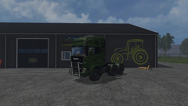 Scania R730 Euro Farm