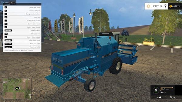Bizon Z058 Rekord Blue