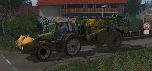 Deutz Fahr Agrotron 6190ttv